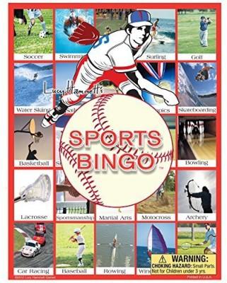 Lucy Hammett Games Sports Bingo Board Game