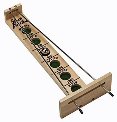 WE Games Shoot The Moon Solid Maple Wood (Made In Usa) Board Game