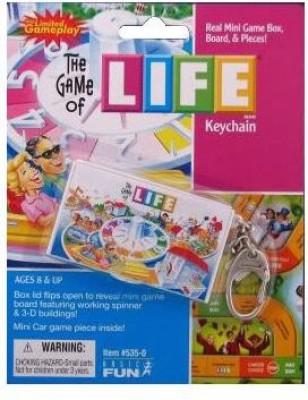 Basic Fun Life Keychain Board Game