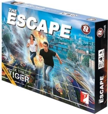 Think Tank Games Ek Tha Tiger-The Escape Board Game