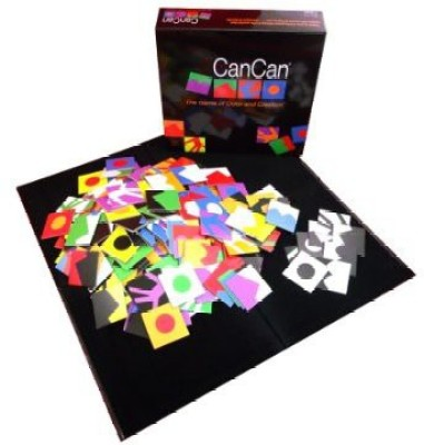 CanCan The Of Color And Creation Board Game