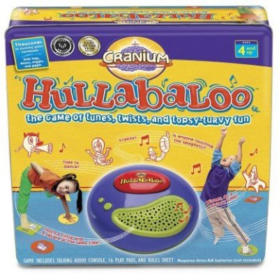 Cranium Hullabaloo Square Tin Board Game