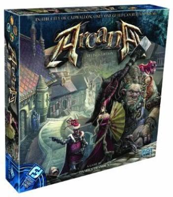 Fantasy Flight Games Arcana Revised Edition Board Game
