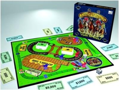 The Weekend Farmer Racing ,N Rodeo Board Game