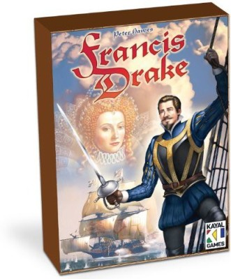 Eagle Games Francis Drake Board Game