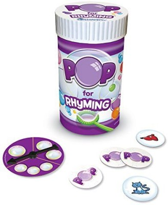 Learning Resources Pop For Rhyming Board Game