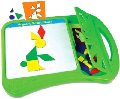 The Learning Journey Magnetic Make A Shape Board Game