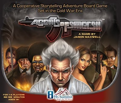 8th Summit Agents Of Smersh (2Nd Edition) Board Game