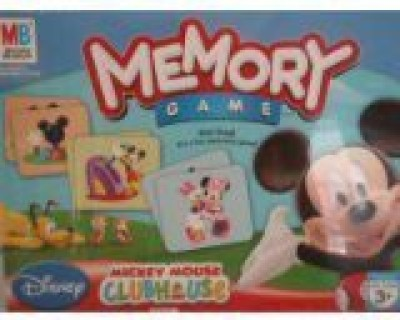 Milton Bradley Memory Mickey Mouse Clubhouse Edition Board Game