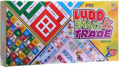 Techno Ludo Snake & Trade (Medium) Board Game