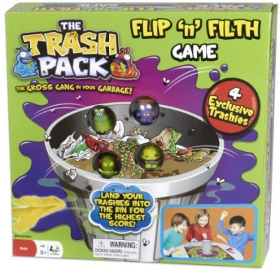 Pressman Toy The Trash Pack Flip And Filth Board Game