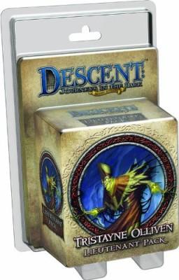 Fantasy Flight Games Descent Second Edition Tristayne Olliven Lieutenant Pack Board Game