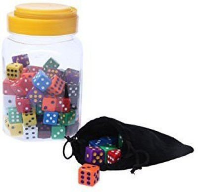 Juvale Math Dice Traditional Colored Dice Casinovegas Dice Board Game