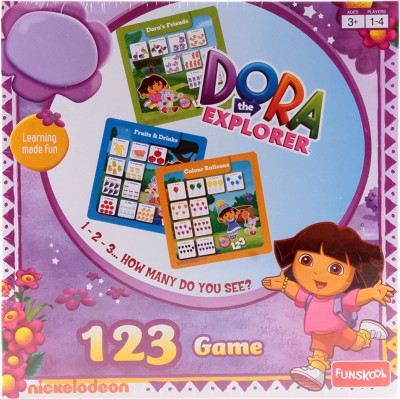 Funskool Dora 123 Board Game Board Game