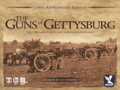 Mercury Games Guns Of Gettysburg Board Game