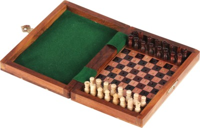 Hamleys Non-magnetic Wooden Chess Set Board Game