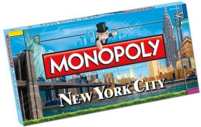 New York City Monopoly Board Game