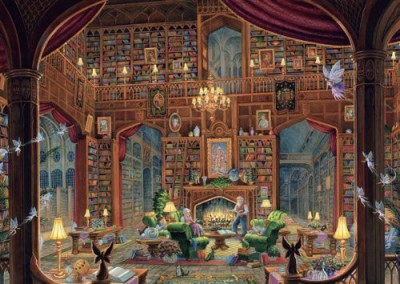 Ravensburger Sanctuary Of Knowledge Puzzle 1000 Pieces Board Game