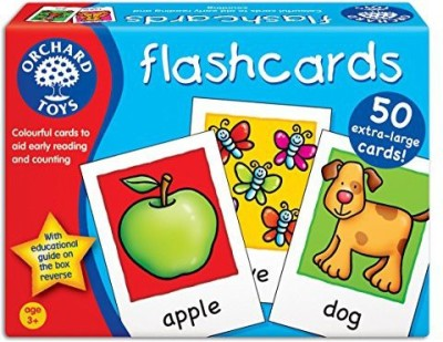 Orchard Toys Flashcards Early Reading And Number Board Game