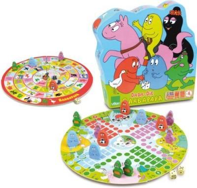 Vilac Barbapapa Dadaoue Two Sided Set Board Game