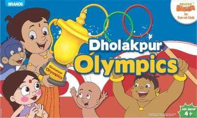 Brands Chhota Bheem Dholak Pur Olympics Board Game