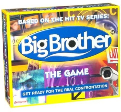 Pressman Big Brother the Game Big Brother The Get Ready For The Real Confrontation Board Game