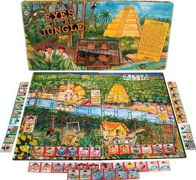 Family Pastimes Eyes Of The Jungle A Cooperative Adventure Board Game