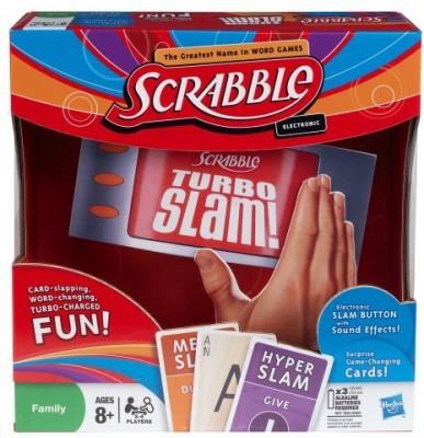 Scrabble Turbo Slam Board Game
