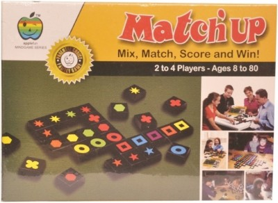 Apple Fun Match,up Mind Game Board Game