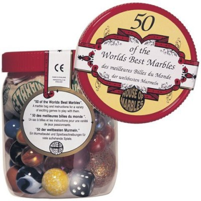 House of Marbles 50 Of The World,S Best Marbles Board Game