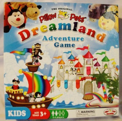 Pillow Pets Dreamland Adventure Board Game