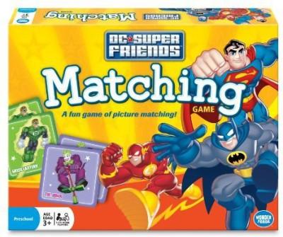 Wonder Forge Super Friends Matching Board Game