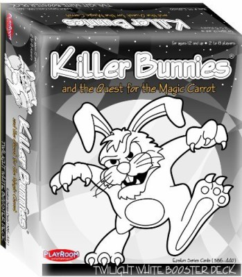 Playroom Entertainment Killer Bunnies Twilight White Booster Board Game