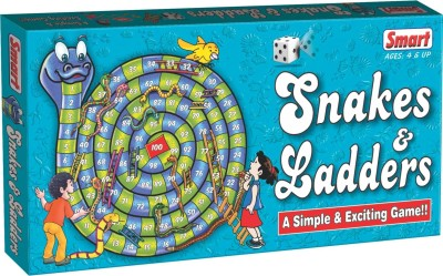 Smart Snakes & Ladders Board Game