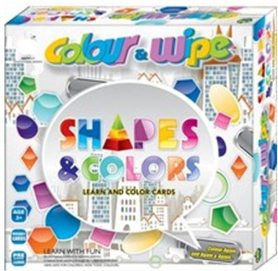 OZ COLOUR &WIPE SHAPES & COLORS Board Game