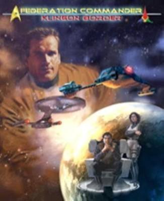 Amarillo Design Federation Commander Klingon Border Adb 4001 Board Game