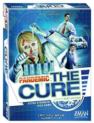 Z-Man Games Pandemic The Cure Board Game