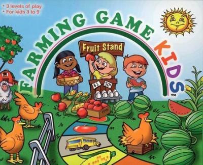 The Weekend Farmer Farming Kids Board Game