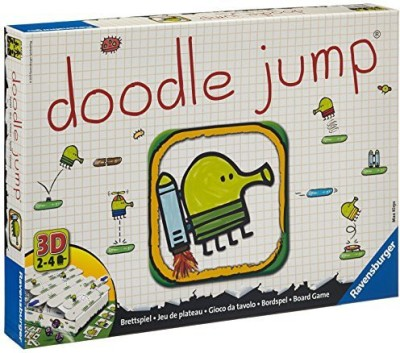 Ravensburger Doodle Jump Family Board Game