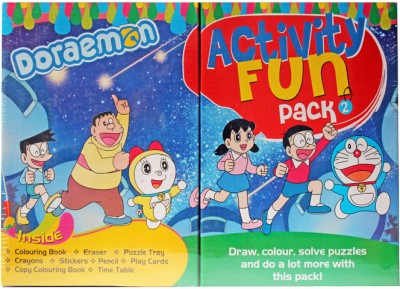 Doraemon Doraemon Avtivity fun Pack 2 Board Game