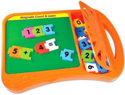 The Learning Journey Magnetic Count And Learn Board Game