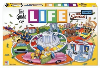 Hasbro The Of Life Simpsons Edition Board Game