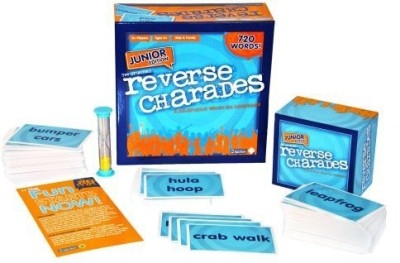 Retro Games Reverse Charades Junior Board Game