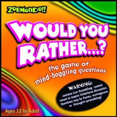 Zobmondo!! Would You Rather? Classic Version Board Game