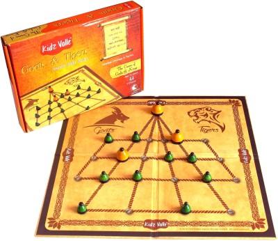 Kidz Valle Goats & Tigers , Adu Huli Aata Board Game