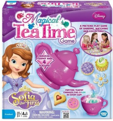 Wonder Forge Sofia The First Magical Tea Time Pink Board Game