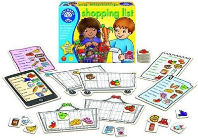 Orchard Toys Shopping List Memory Board Game