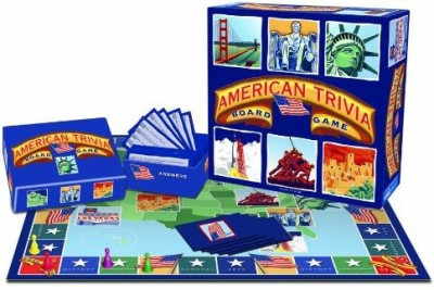 Outset Media American Trivia Board Game