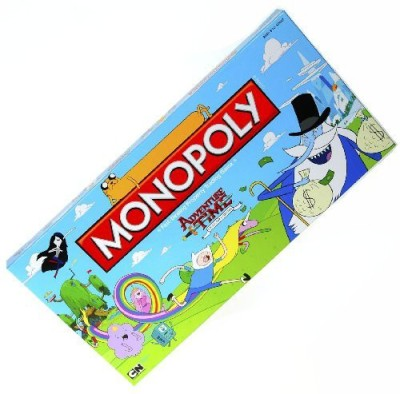 U S of A Monopoly Games Adventure Time Monopoly _ For 2 To 6 Players Board Game