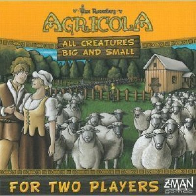 Z-Man Games Agricola All Creatures Big And Small Board Game